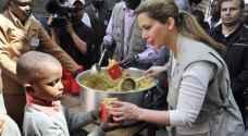 الأميرة هيا تدعو إلى مساعدة 20 مليون شخص يعانون المجاعة