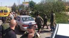 مقتل جندي من قوات الاحتلال بعملية دهس برام الله..فيديو وصور