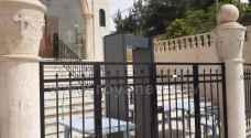 اجراءات أمنية مشددة على مداخل الكنائس..صور