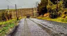 بالفيديو والصور ..أمطار ورياح قوية على الشوبك والعقبة