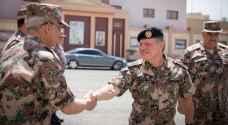 الملك يزور القيادة العامة للقوات المسلحة