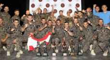 الصين ولبنان تفوزان بمسابقة المحارب العسكرية