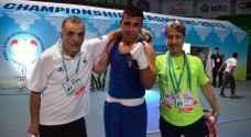 عشيش يكتفي بالميدالية البرونزية في بطولة آسيا للملاكمة