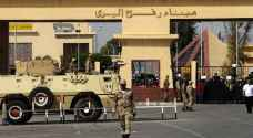 اغلاق معبر رفح بين قطاع غزة ومصر