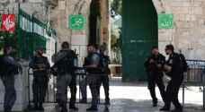 قوات الاحتلال تعتدي على حراس المسجد الأقصى المبارك