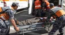 ٧ إصابات بحادثي سير في إربد والكرك