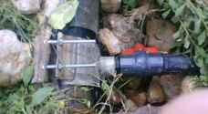 ضبط استخداما غير مشروع للمياه في الرمثا