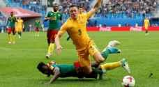 كأس القارات .. التعادل الإيجابي يحسم مواجهة الكاميرون وأستراليا