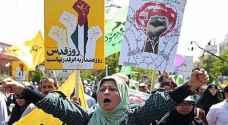 الإيرانيون يهتفون ضد السعودية بمسيرات 'يوم القدس'