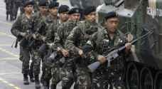 الجيش الفيليبيني يعلن هدنة في مراوي بمناسبة اول ايام عيد الفطر