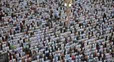 بالصور.. أكثر من مليون يؤدون صلاة العيد بالمسجد النبوي