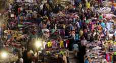 إقبال الأردنيين على الألبسة والأحذية في العيد يتراجع ٣٠%