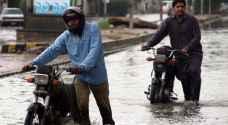 بالفيديو.. فيضانات تخلف ١١ قتيلا في باكستان