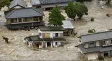ارتفاع حصيلة الفيضانات في اليابان الى ١٥ قتيلا