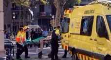 ١٣ قتيلا واكثر من ٥٠ جريحا في اعتداء برشلونة