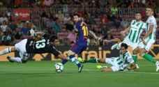 برشلونة يهزم ريال بيتيس