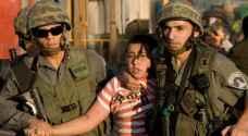 الاحتلال يعتقل ٨٠٠ طفل فلسطيني منذ بداية العام الحالي
