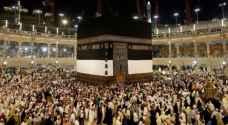 مليونا مسلم يؤدون مناسك الحج هذا الاسبوع