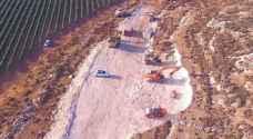 استئناف أعمال بناء مستوطنة جديدة جنوبي نابلس