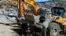 الاحتلال ينفذ اعمال تجريف بمقبرة الشهداء في القدس