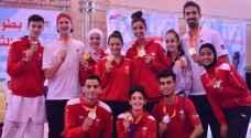 منتخب التايكواندو يسيطر على بطولة فلسطين الدولية للتايكواندو
