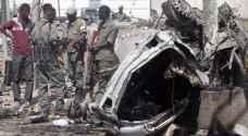 ارتفاع عدد قتلى تفجيرين في الصومال إلى ٣٥٨ شخصا