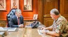 الملك يزور القيادة العامة للقوات المسلحة .. صور