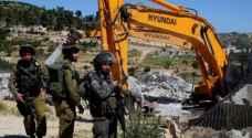الاحتلال يخطر بهدم منزل مواطن في القدس المحتلة
