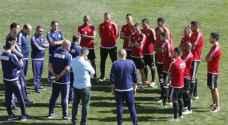 بدء الاختبارات الطبية والبدنية للاعبي المنتخب الوطني لكرة القدم