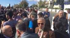 وقفة احتجاجية امام السفارة البريطانية بذكرى وعد بلفور - صور
