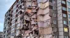 ارتفاع حصيلة قتلى انهيار مبنى في روسيا