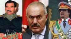 ٣ رؤساء عرب وثقت الكاميرات وفاتهم.. فيديو