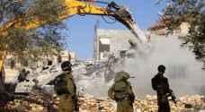 الاحتلال يهدم مساكن للفلسطينيين في القدس