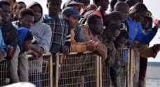١٤٤ مهاجرا نيجيريا علقوا بليبيا يعودون الى بلادهم باطار خطة طارئة
