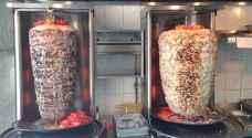 إيقاف مطعم شاورما ومحل حلويات ومطعم شعبي بالزرقاء
