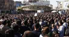 متظاهرون أكراد يحرقون مقرات حزبية وأمنية بالسليمانية