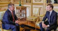 تفاصيل لقاء الملك مع الرئيس الفرنسي.. فيديو