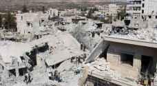 مقتل عائلة بقصف جوي على إدلب