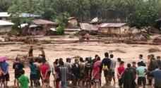 مصرع ١٨٢ شخصا ونزوح عشرات الآلاف جراء عاصفة استوائية في الفلبين