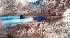 350 حالة سرقة مياه في مأدبا العام الماضي