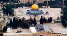 استئناف أعمال الصيانة والترميم في الحرم القدسي