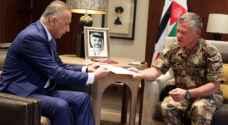 الملك يلتقي رئيس مخابرات العراق