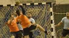 عمان والكتة يحققان الفوز في دوري الدرجة الاولى لكرة اليد