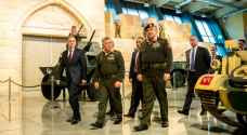 الملك يفتتح متحف الدبابات الملكي بمنطقة المقابلين في عمان