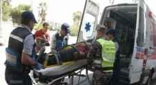 وفاة وإصابتان بحادث تدهور في مأدبا