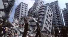 زلزال بقوة 6.4 درجات في تايوان يتسبب بانهيار فندق