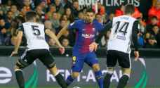 برشلونة يتأهل لنهائي الكأس بهدايا سواريز