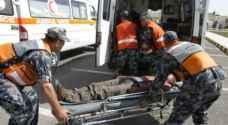 21 إصابة بحادث تصادم في الشونة الجنوبية