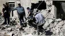 المرصد السوري : طائرات حربية تقصف الغوطة بعد تصويت مجلس الأمن