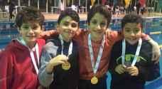 اختتام سباقات بطولة الأردن الشتوية المفتوحة للسباحة .. صور